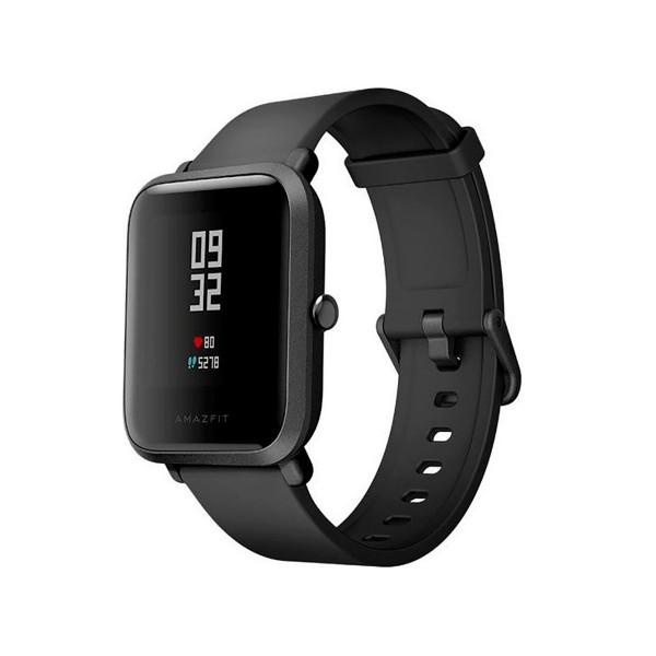 Xiaomi amazfit bip negro smartwatch 1.28'' wifi gps bluetooth pulsómetro notificaciones inteligentes