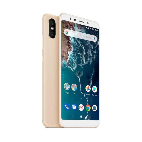 Xiaomi mi a2 dorado móvil 4g dual sim 5.99'' ips fhd+/8core/64gb/4gb ram/20mp+12mp/20mp