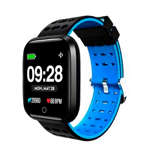 Innjoo azul sportwatch tft 1.33'' reloj inteligente deportivo bluetooth frecuencia cardíaca y presión sanguínea