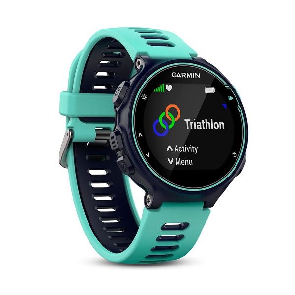 Garmin forerunner 735xt turquesa/azul reloj multideporte gps glonass monitor de frecuencia cardíaca y actividad resistente al agua 5 atm