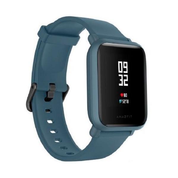 Xiaomi amazfit bip lite azul smartwatch 1.28'' táctil gps glonass bluetooth pulsómetro notificaciones inteligentes